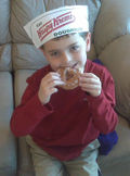 Bo_eating_Krispy_Kreme_12_08